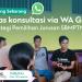 Daftar Kelas Konsultasi Online : Pemilihan Jurusan SBMPTN 2019